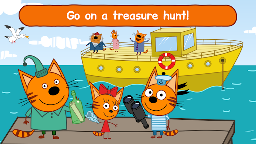 Kid-E-Cats: Sea Adventure. Preschool Games Free 1.4.4 androidappsheaven.com 1