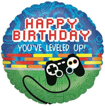 Folieballong - Happy Birthday gaming
