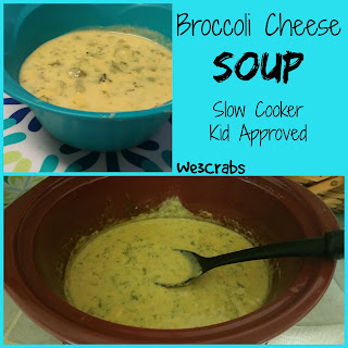Broccoli Cheese Soup in the Slow Cooker.