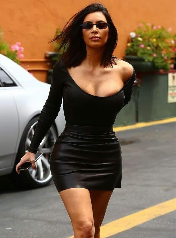 Kim Kardashian, celebrity outfits
