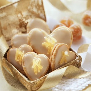 Iced Ginger Hearts
