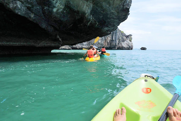 Explore mysterious caves & tunnels by kayak