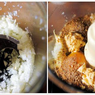 Fish Cakes with Paprika Lemon Mayonnaise.