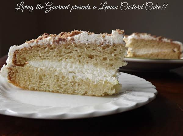 Lemon Custard Cake Recipe