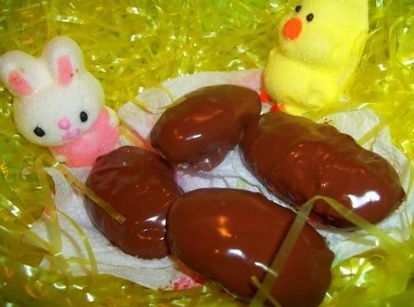 Crispies Peanut Butter Eggs - Delish! Recipe