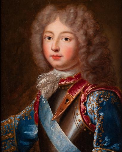 Ecole Francaise-Portrait dit du Duc de Berry