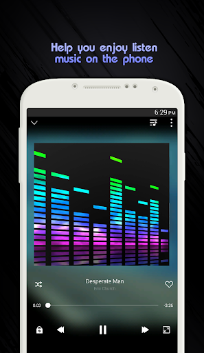 Guide Go Music Free Equalizer Themes Player MP3 1.3 screenshots 3