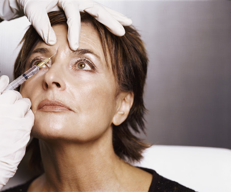 SMOOTH MOVE: A dermatologist demonstrates how botox or other anti-wrinkle medicines are applied via syringe to a patient. Picture: THINKSTOCK