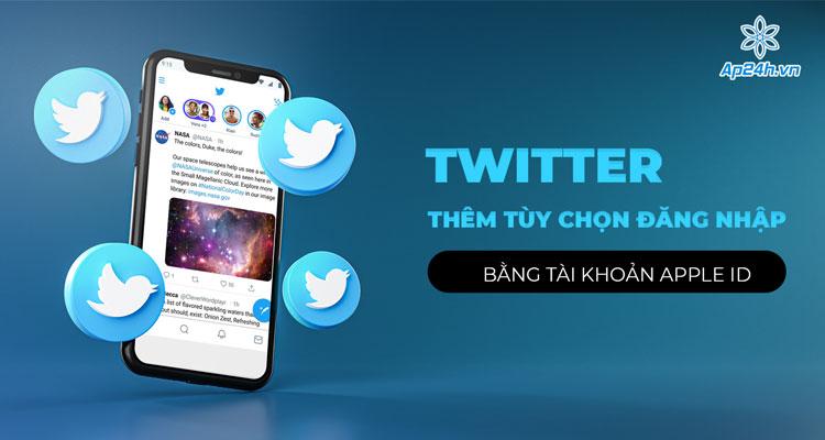 Twitter dành cho iOS có thêm tùy chọn đăng nhập