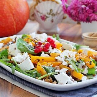 Warm Pumpkin and Lentils Salad Recipe