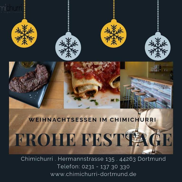 Weihnachtsessen Dortmund.Chimichurri Kreativ Argentinisch Restaurant In Dortmund