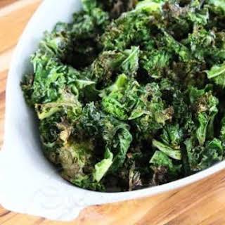 Garlic Roasted Kale.