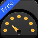 Speedometer. Free icon