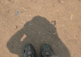 Photo: Quite short shadow