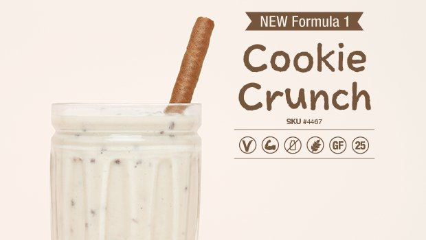 Herbalife cookie crunch