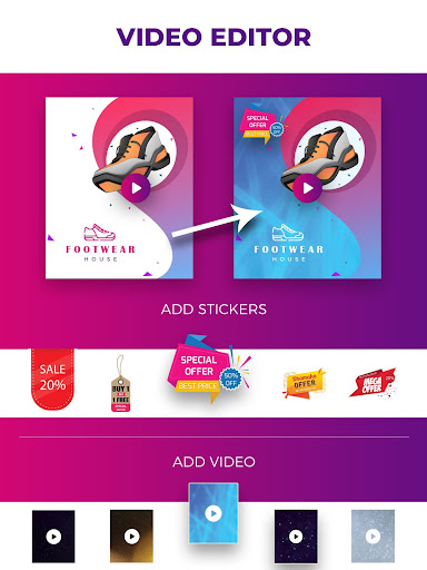 Flyer Maker, Poster Maker With Video 19.0 screenshots 10