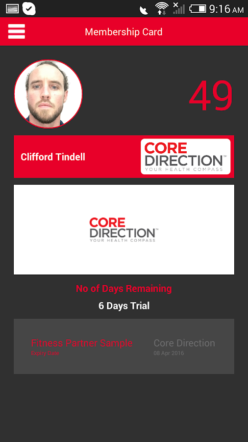 Core Direction- screenshot