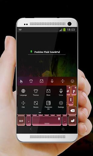 玩個人化App|積極粉紅 TouchPal免費|APP試玩