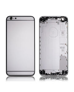 iPhone 6S Plus Back Housing without logo High Quality Silver
