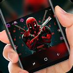 Red ninja Keyboard Theme Icon