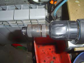 Photo: J'utilise des pointes parrallèles, donc j'ai un calibreur qui agit par écrasement des fibres