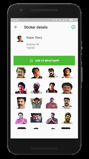 Malayalam Stickers screenshots 3