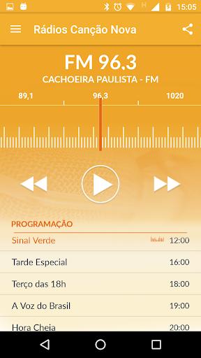 Rádio Canção Nova 3.5.1 screenshots 3