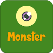 Jump monster logo