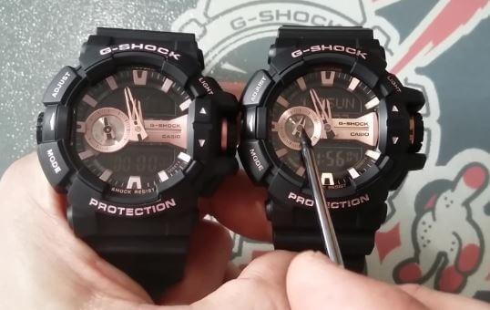 Màn hình đồng hồ G-Shock & Baby-G chính hãng