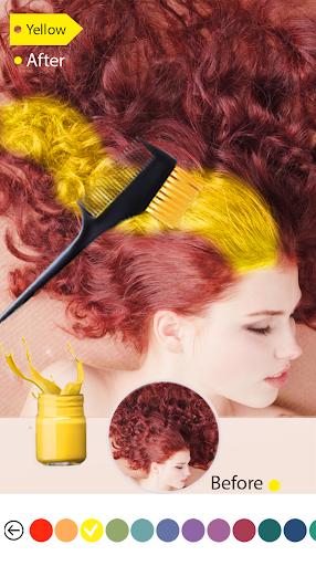 Easy Hair Color Changer 1.0.0 screenshots 4
