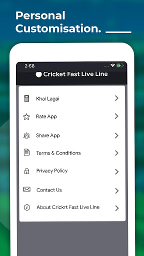 Cricket Fast Live Line screenshots 5
