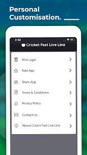 Cricket Fast Live Line App Download For Android and iPhone 5