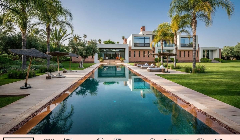 Maison avec piscine et jardin Marrakech