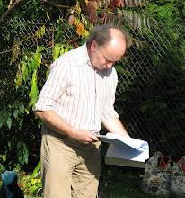 Photo: inż. Jerzy Cisowski autor programu prób statycznych szybowca