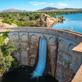 Quanah Parker Dam by Kathy Suttles - Buildings & Architecture Other Exteriors