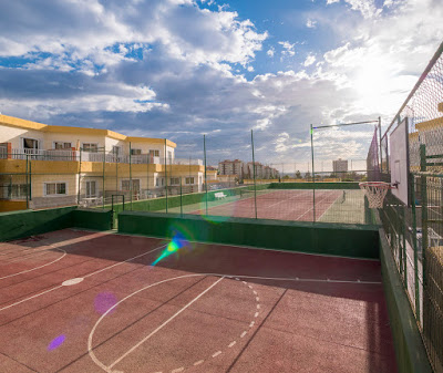 THE COMPLEX - Basketball and tennis court