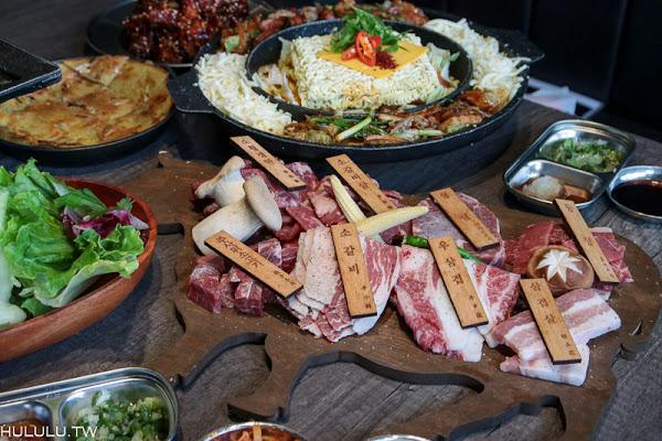 高雄美食燒肉「娘子韓食-居食屋-高雄美術館」道地韓國烤肉,全程桌邊服務,開心大口吃燒肉。|高雄美術館|美術館餐廳|