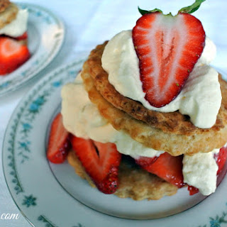 Sour Cream Shortcakes with Strawberries and Whipped Cream Recipe