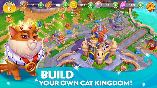 Cats & Magic: Dream Kingdom apkdebit screenshots 3
