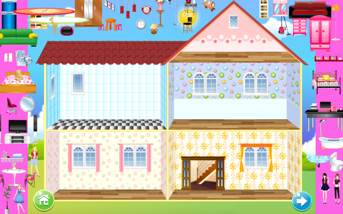 home decoration games screenshot - Decoration Games