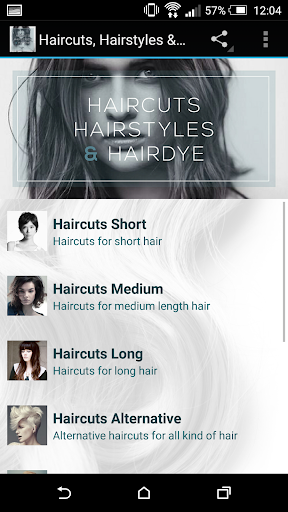 Haircuts Hairstyles Hairdye