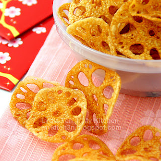 Lotus Root Chips [CNY Bakes 2011 - Part V]