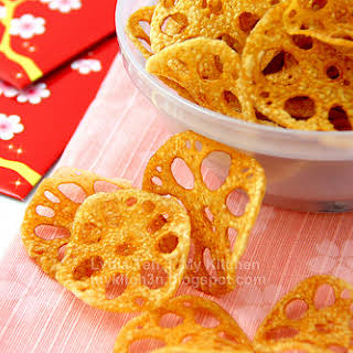 Lotus Root Chips [CNY Bakes 2011 - Part V].