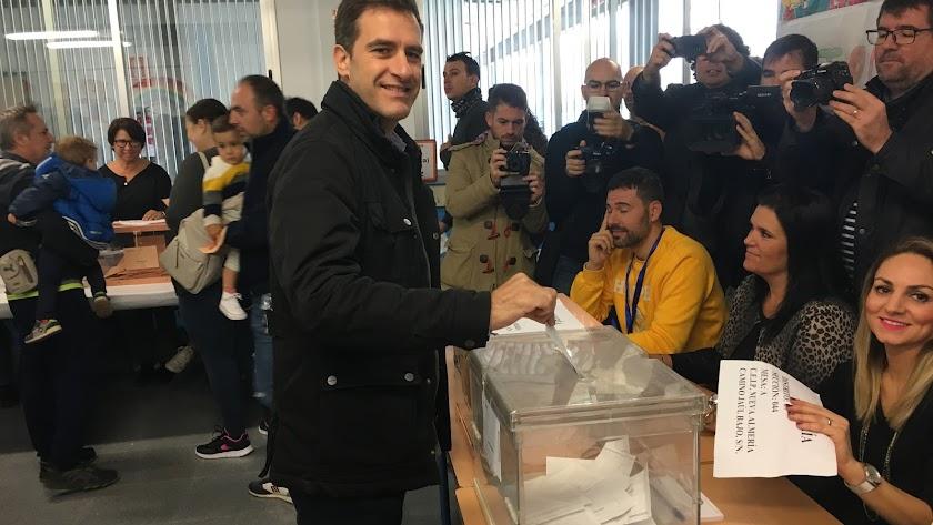 Miguel Ángel Castellón, número 1 del PP de Almería al Congreso.