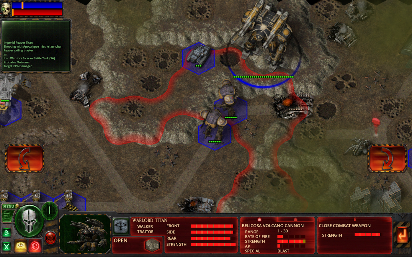 Battle of Tallarn- screenshot