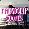 Friendship quotes icon