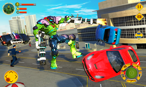 Incredible Monster Robot Hero Crime Shooting Game screenshots 2