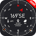 Digital Compass for Android: GPS map 2020 icon