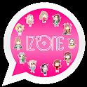 IZONE WAStickerApps Korean KPOP Idol for Whatsapp icon