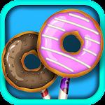 Donut Cake Pop Dessert Maker Icon